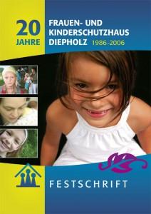 Broschüre 20 Jahre Frauen- und Kinderschutzhaus Diepholz