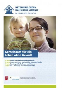 Broschüre 25 Jahre Frauen- und Kinderschutzhaus Diepholz