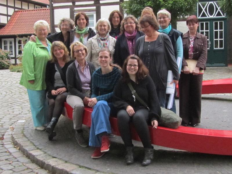 Das Team des Netzwerkes gegen Häusliche Gewalt im Landkreis Diepholz, 09/2012