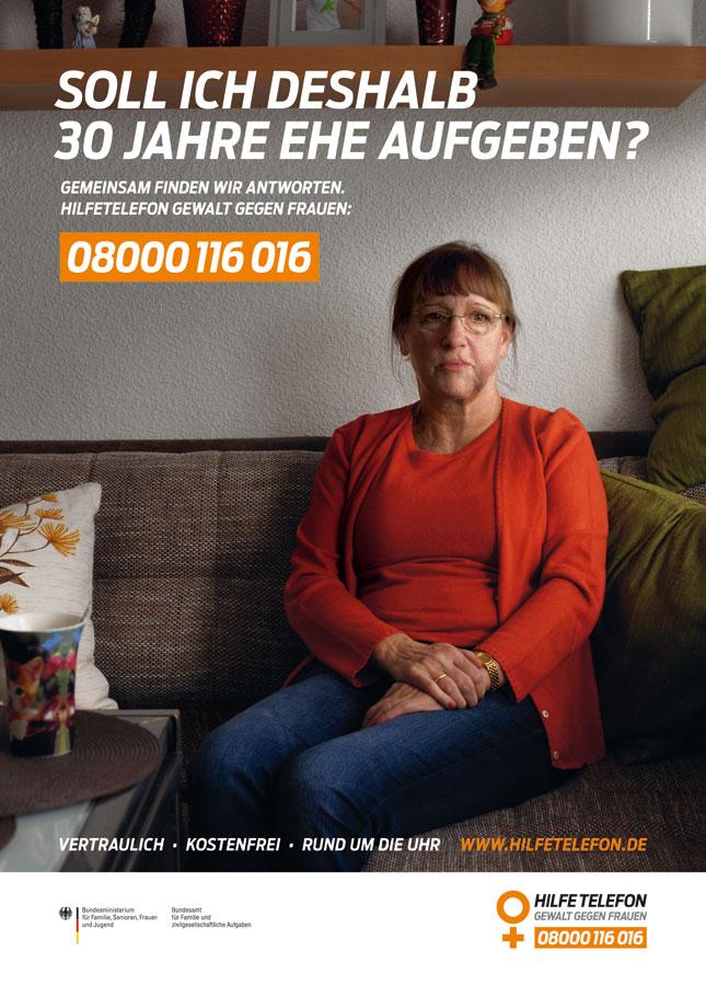 Bundesweites Hilfetelefon Gewalt gegen Frauen, 08000 116 016