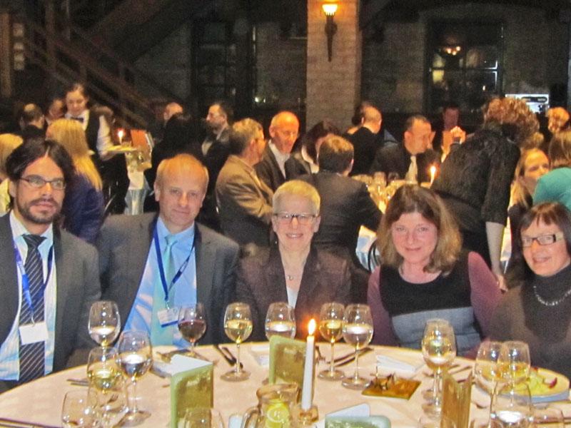 Die deutsche Delegation bei der Preisverleihung