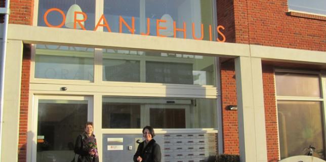 Mit Fachkolleginnen aus Niedersachsen zu Besuch im Oranje Huis in Alkmaar in den Niederlanden.
