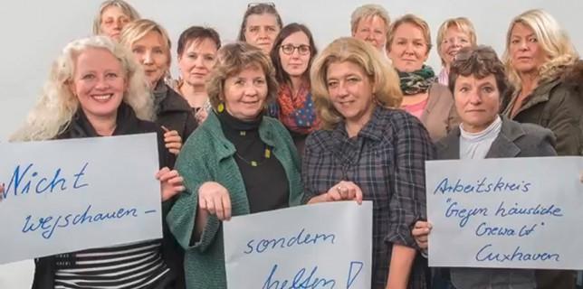 Arbeitskreis gegen häusliche Gewalt Cuxhaven. © Meike Hempel.