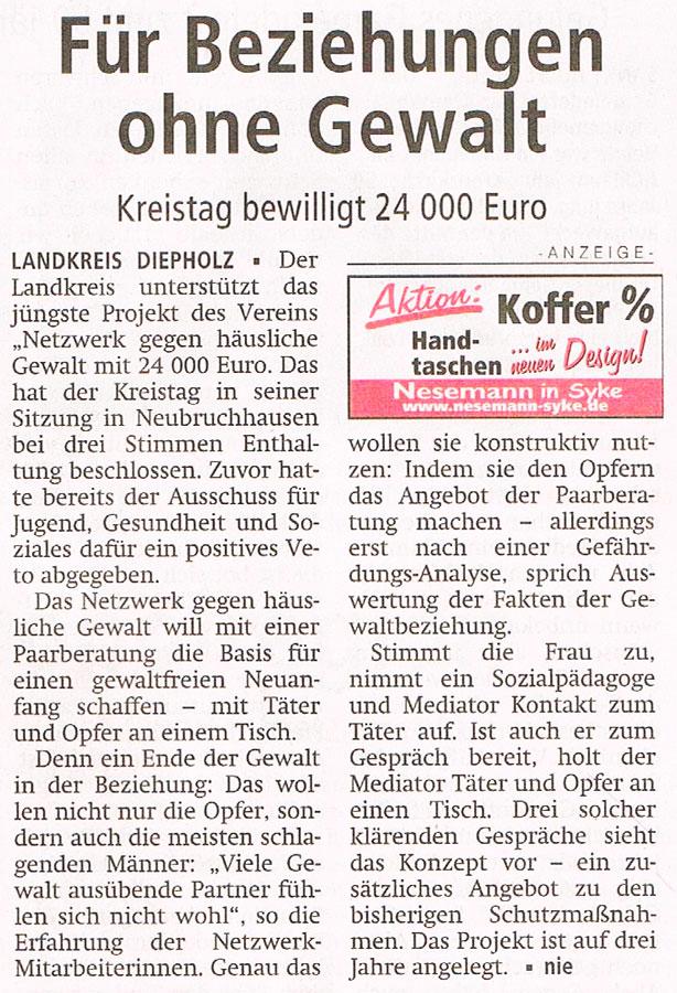 Diepholzer Kreisblatt, 17.07.2015