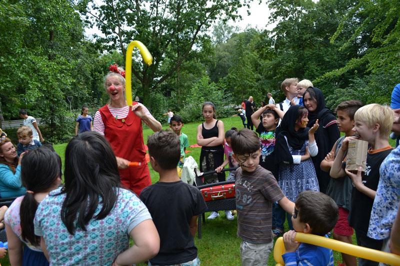 Sommerfest, 07.08.2016, Clownin Lili