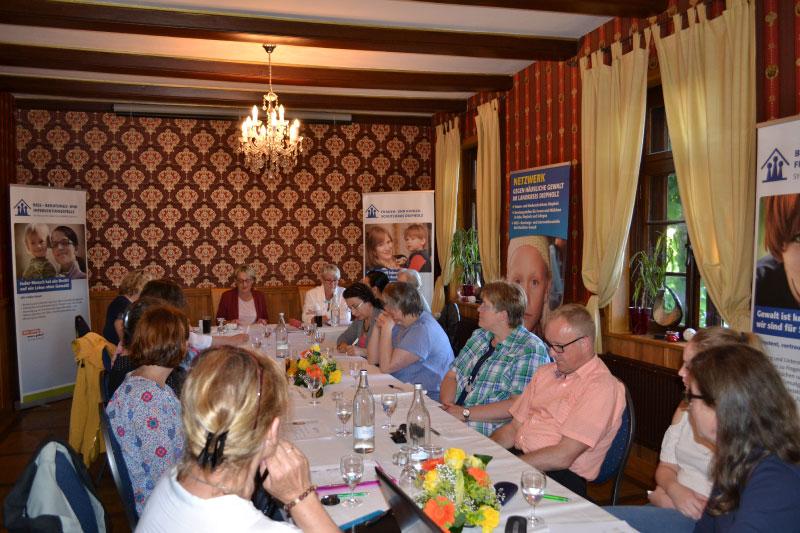 Mitgliederversammlung des Netzwerkes gegen Häusliche Gewalt im Landkreis Diepholz e.V. am 31.05.2017 in Diepholz