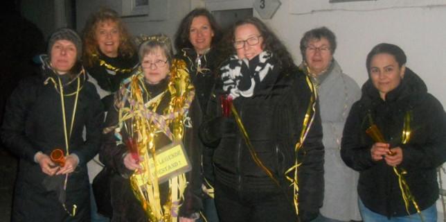Am 1. März 2018 wurde Gisela Bokelmann vom Netzwerk-Team zuhause abgeholt und zu Ihrer Abschiedsfeier begleitet