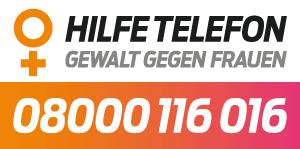 Hilfetelefon Gewalt gegen Frauen, 08000116016