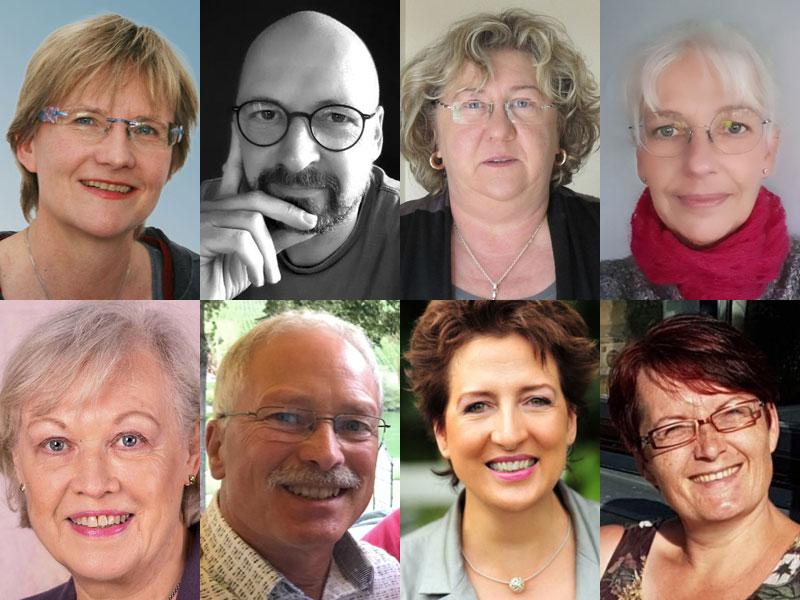 Der Vorstand des Netzwerkes gegen häusliche Gewalt im Landkreis Diepholz e.V., Februar 2021