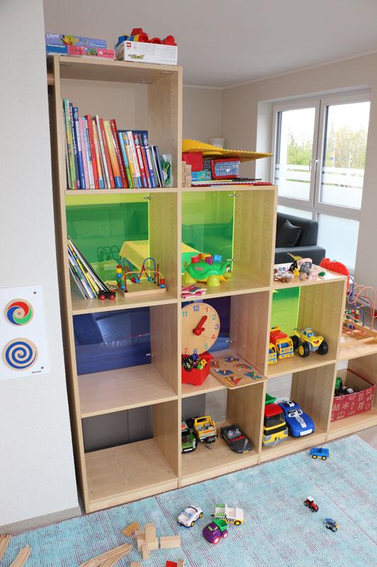 Wohn- und Spielzimmer