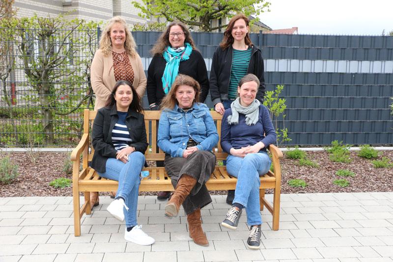 Das Team des Netzwerkes gegen Häusliche Gewalt im Landkreis Diepholz e.V. (05/2021)